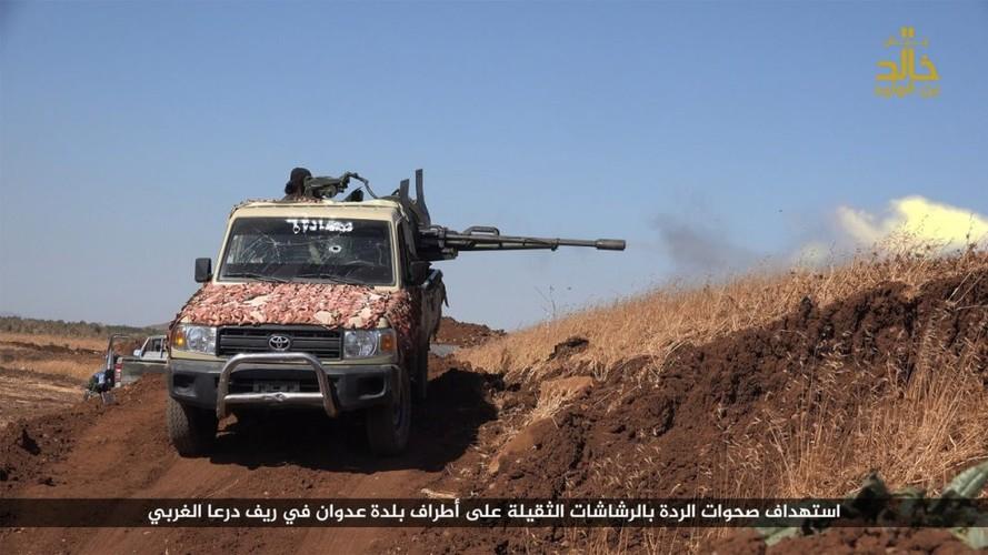 Anh: Phien quan IS danh nhau voi FSA o Cao nguyen Golan-Hinh-4