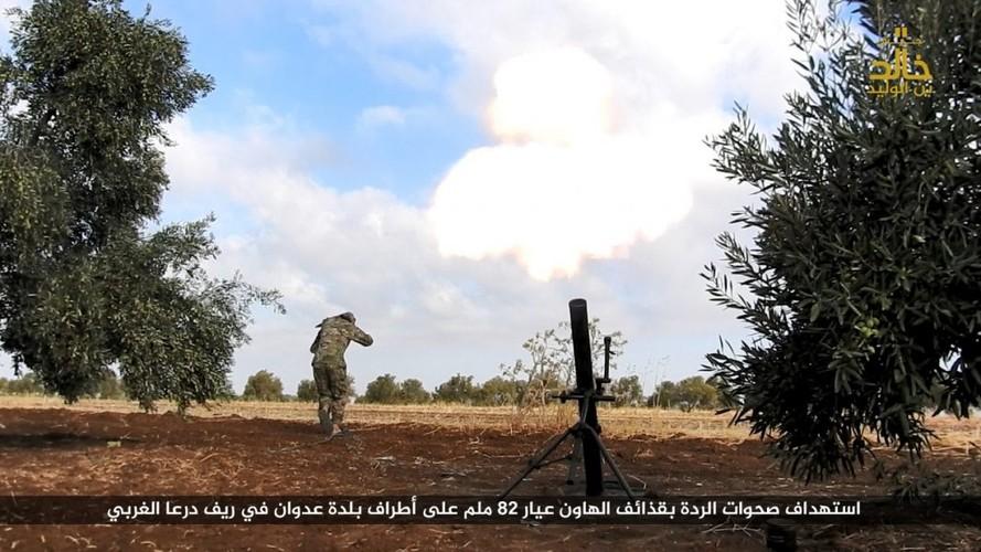 Anh: Phien quan IS danh nhau voi FSA o Cao nguyen Golan-Hinh-7