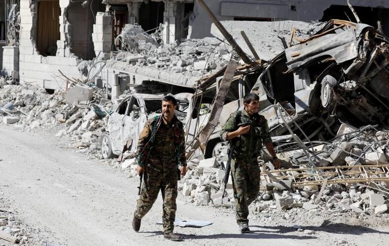 Anh: SDF sap giai phong hoan toan thanh pho Raqqa-Hinh-5