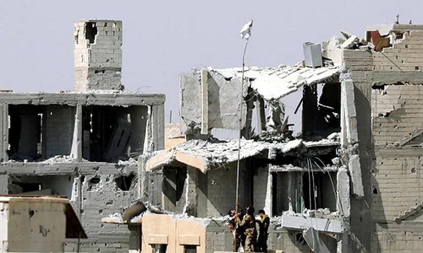 Anh: SDF sap giai phong hoan toan thanh pho Raqqa