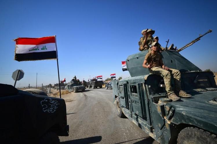 Toan canh quan doi Iraq danh chiem Kirkuk tu tay nguoi Kurd-Hinh-11