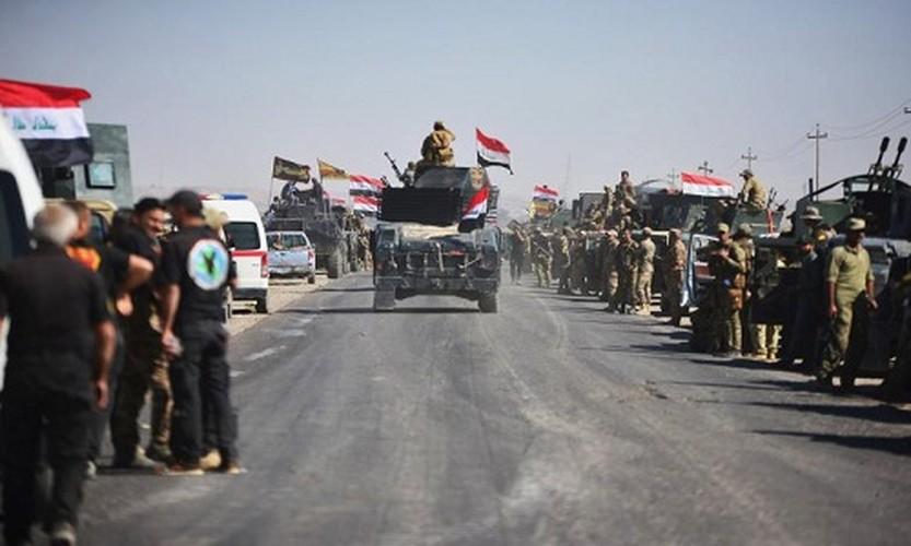 Toan canh quan doi Iraq danh chiem Kirkuk tu tay nguoi Kurd-Hinh-3
