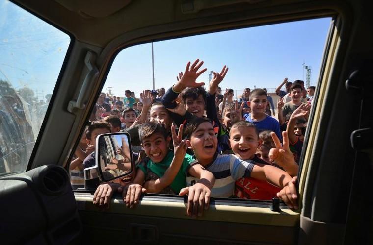 Toan canh quan doi Iraq danh chiem Kirkuk tu tay nguoi Kurd-Hinh-4