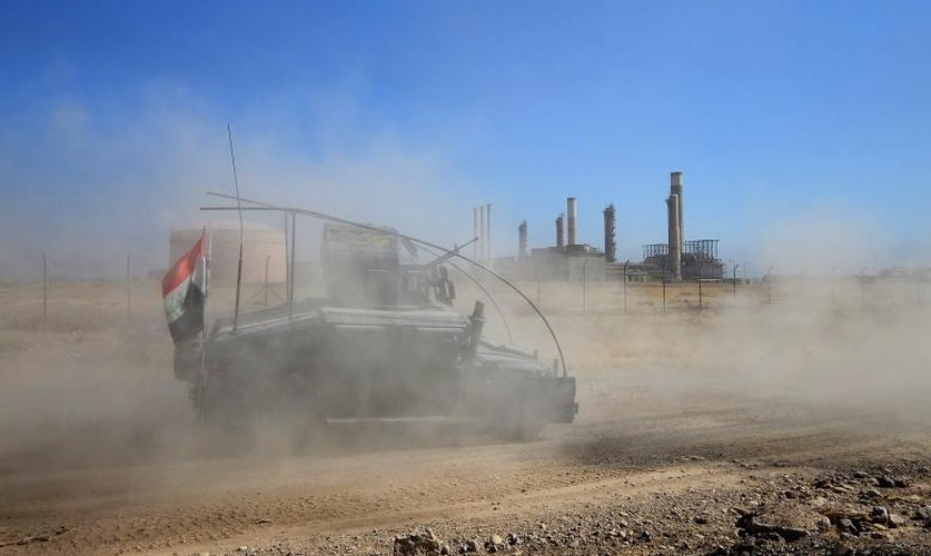 Toan canh quan doi Iraq danh chiem Kirkuk tu tay nguoi Kurd-Hinh-5