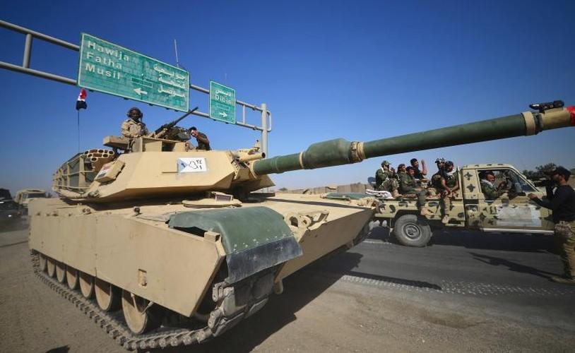 Toan canh quan doi Iraq danh chiem Kirkuk tu tay nguoi Kurd-Hinh-6