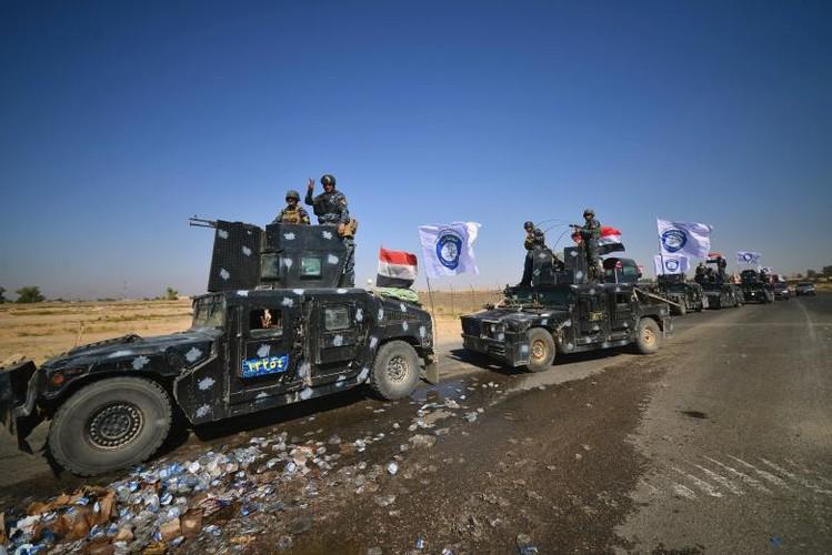 Toan canh quan doi Iraq danh chiem Kirkuk tu tay nguoi Kurd-Hinh-8