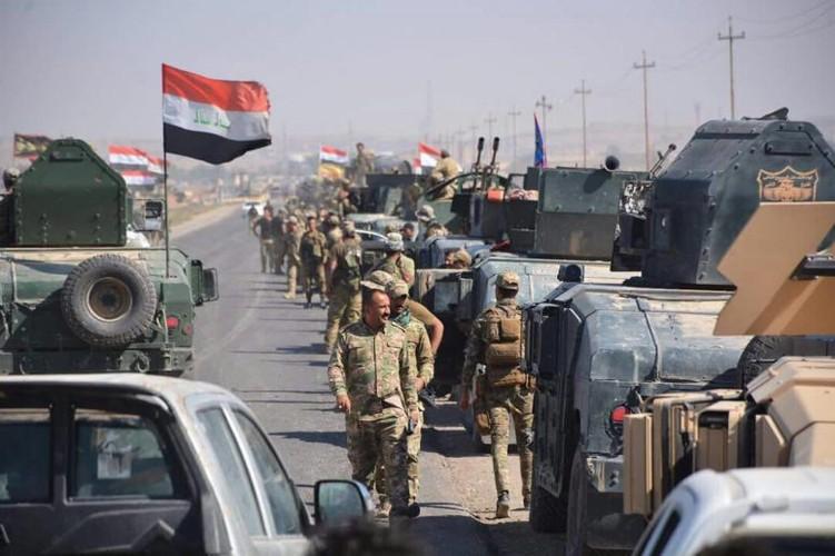 Toan canh quan doi Iraq danh chiem Kirkuk tu tay nguoi Kurd