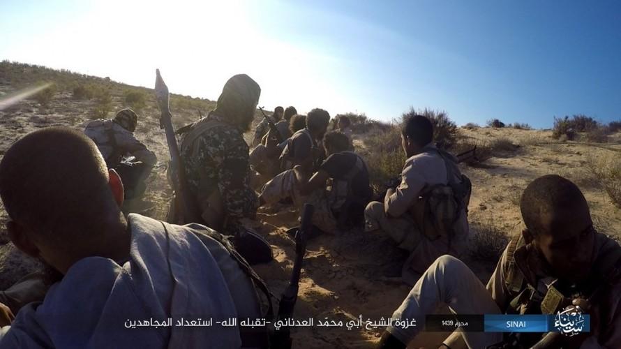 Anh: Phien quan IS tan sat nhieu linh Ai Cap o Sinai-Hinh-2