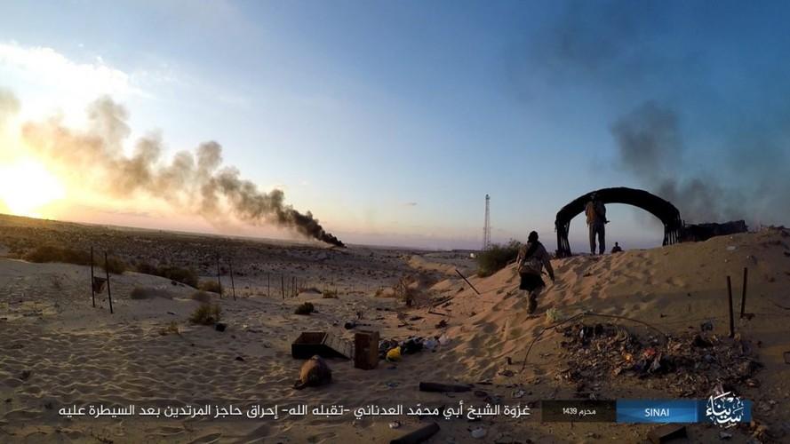 Anh: Phien quan IS tan sat nhieu linh Ai Cap o Sinai