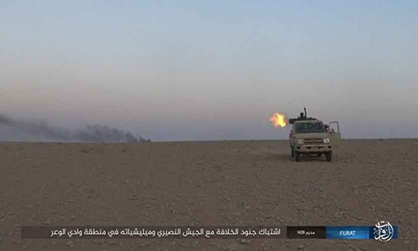 Anh: IS phan cong du doi quan Syria o Nam Deir Ezzor