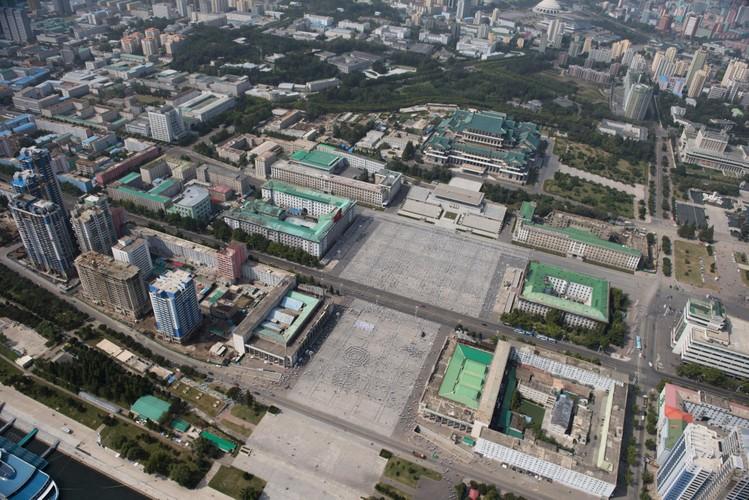 Kinh ngac thu do Binh Nhuong, Trieu Tien nhin tu tren cao-Hinh-7