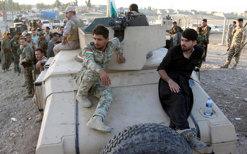 Anh: Giao tranh ac liet, Iraq kiem soat hoan toan tinh Kirkuk-Hinh-10