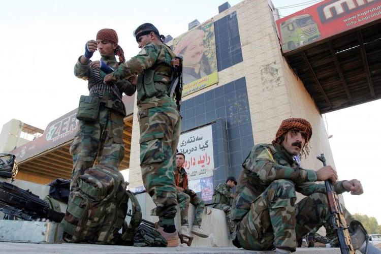 Anh: Giao tranh ac liet, Iraq kiem soat hoan toan tinh Kirkuk-Hinh-12