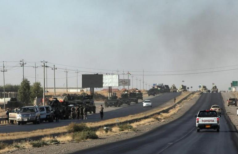 Anh: Giao tranh ac liet, Iraq kiem soat hoan toan tinh Kirkuk-Hinh-15
