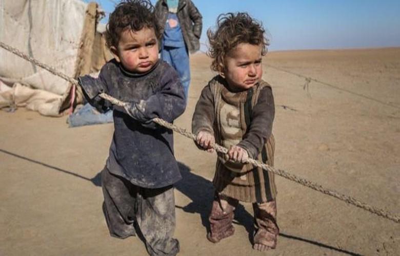 Nhoi long tham canh cua tre em Syria do khung hoang luong thuc-Hinh-5