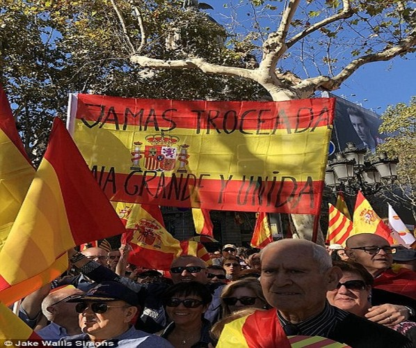 Bien nguoi tuan hanh phan doi Catalonia don phuong tuyen bo doc lap-Hinh-5