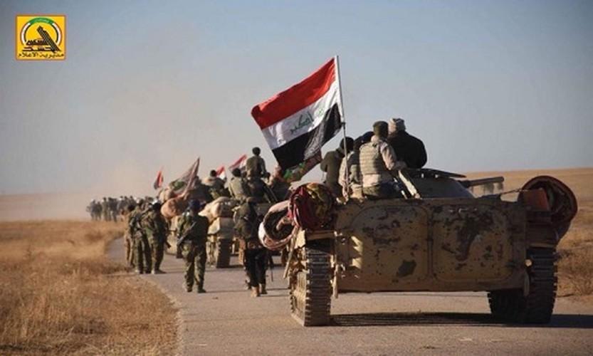 Phien quan IS dai bai, Quan doi Iraq thang lon o vung Al-Jazeera