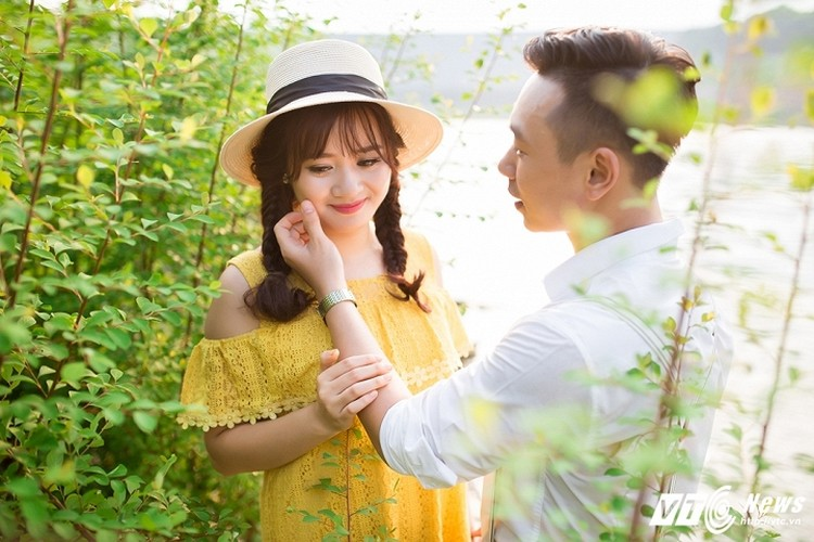 Anh cuoi lang man cua chang canh sat Yen Bai da tai-Hinh-10