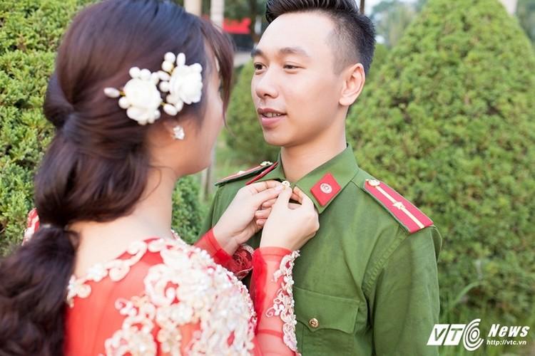 Anh cuoi lang man cua chang canh sat Yen Bai da tai-Hinh-2