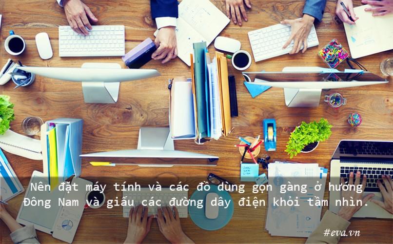 Bai tri ban lam viec theo phong thuy cho su nghiep hanh thong-Hinh-6