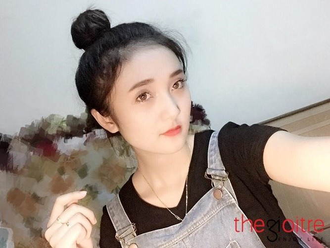 Ngam co nang 9X Tuyen Quang xinh nhu bup be-Hinh-4