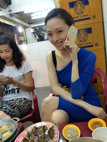 Bo lop trang diem, Truong Ho Phuong Nga co con xinh dep?-Hinh-4