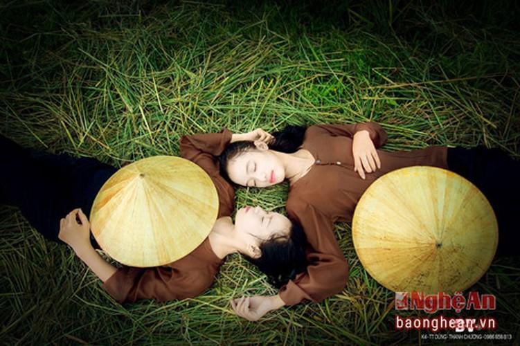 Thon nu khoe ve dep tinh khoi tren canh dong Thanh Chuong-Hinh-7