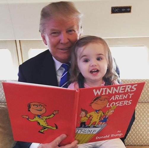 Chau gai xinh nhu thien than cua Tong thong My Donald Trump