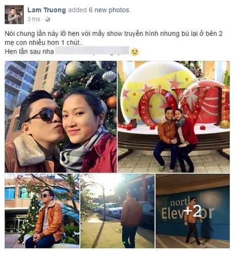 Ghen ti cach Lam Truong cham vo bau kem 17 tuoi