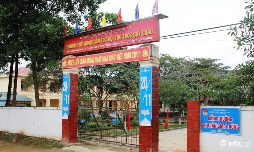 Nghe An: Loi bun tham truong thuong Tet giao vien 30.000 dong