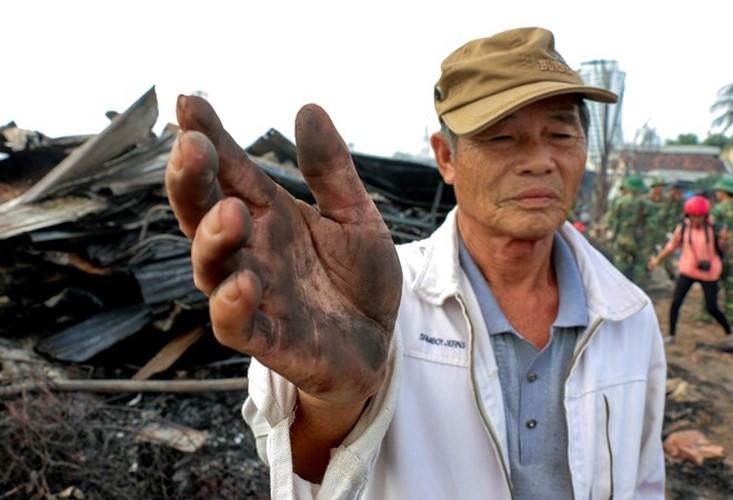 Anh: Xom chai tan hoang sau vu chay hon 40 can nha o Nha Trang-Hinh-13