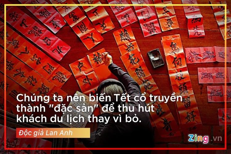 """""""Cai gi cung co the Tay hoa, tru Tet co truyen"""""""