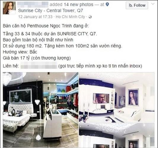 "Ngoc Trinh ban can ho de ve ""chung mot nha"" voi Hoang Kieu?"