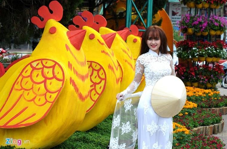 """Anh: Linh vat Tet """"mai am hanh phuc"""" o Quang Ngai-Hinh-3"""