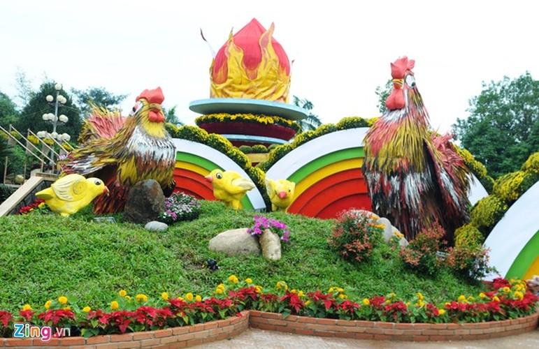 """Anh: Linh vat Tet """"mai am hanh phuc"""" o Quang Ngai-Hinh-4"""