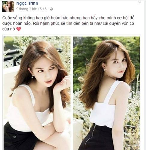 """Hau"" chia tay Hoang Kieu, Ngoc Trinh phat ngon toan...triet ly-Hinh-6"
