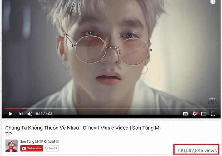 Ky luc 100 trieu view cua Son Tung MTP tren youtube da bi pha