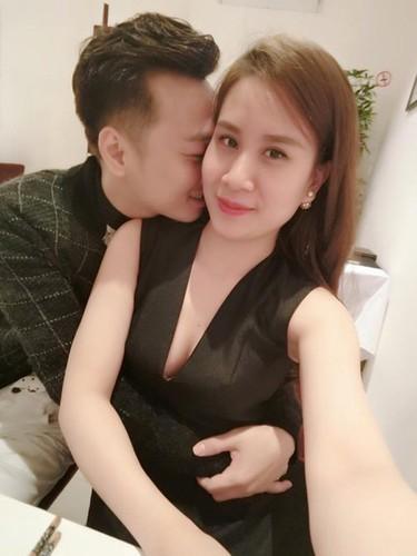 Nhung khoanh khac tinh tu cua MC Thanh Trung voi vo sap cuoi-Hinh-3