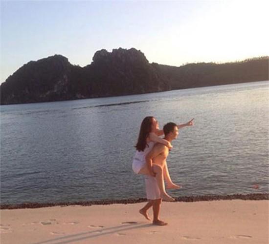 Nhung khoanh khac tinh tu cua MC Thanh Trung voi vo sap cuoi-Hinh-5