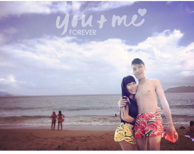 Cai ket lan lon cho cap doi nho dan mang Photoshop canh di bien-Hinh-8