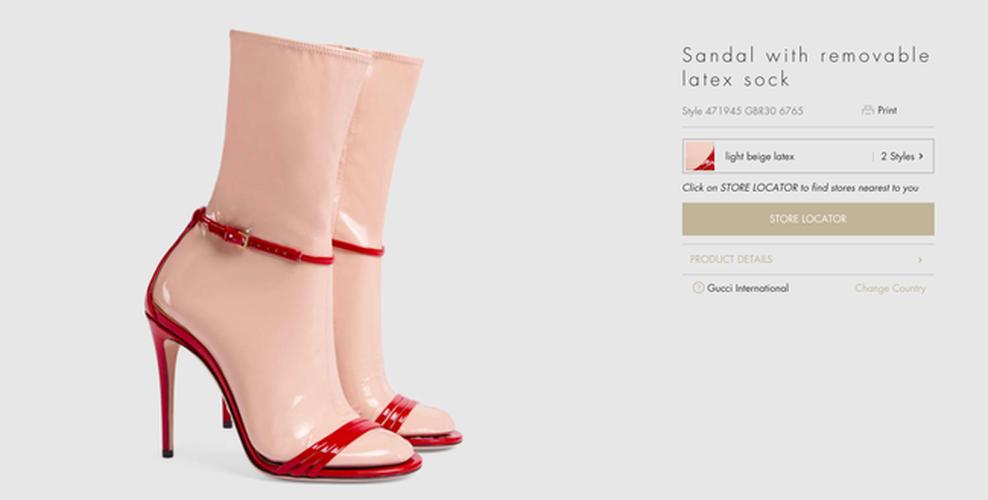 Hot hoang voi thiet ke sandals kem tat nhua cua Gucci-Hinh-2