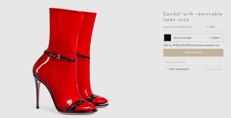 Hot hoang voi thiet ke sandals kem tat nhua cua Gucci-Hinh-3