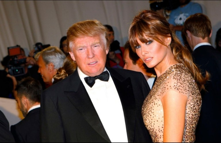 Hinh anh tinh tu cua ong Trump va ba Melania-Hinh-11