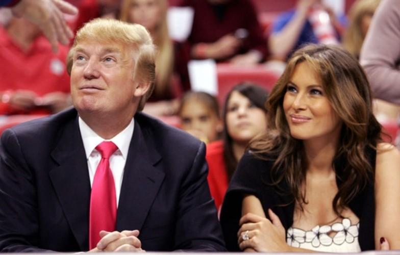 Hinh anh tinh tu cua ong Trump va ba Melania-Hinh-9
