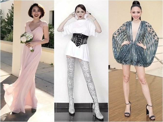 "Top trang phuc ""xau khong the ta"" cua Toc Tien"