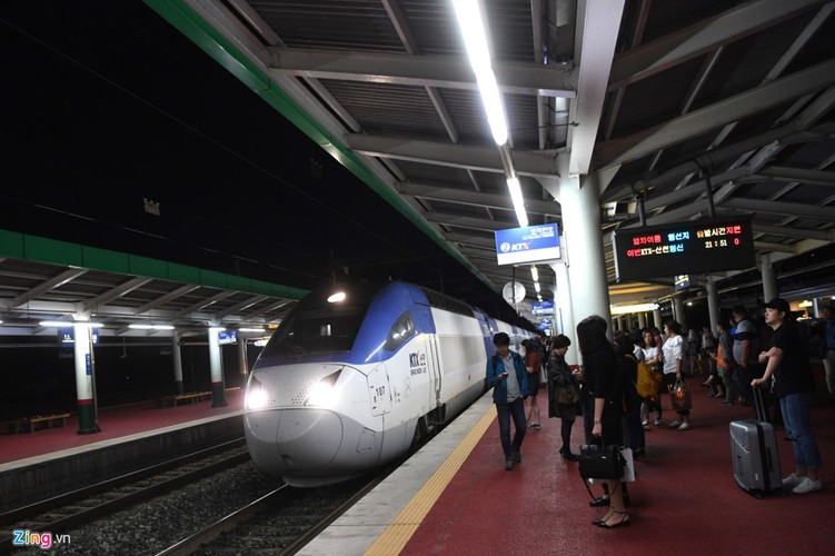 Can canh tau dien tren cao tien nghi nhu may bay o Han Quoc