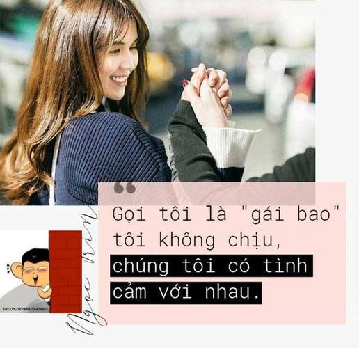 """Nhung cau noi gay bao du luan mang """"thuong hieu"""" Ngoc Trinh-Hinh-2"""