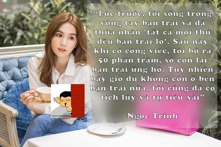 """Nhung cau noi gay bao du luan mang """"thuong hieu"""" Ngoc Trinh-Hinh-3"""