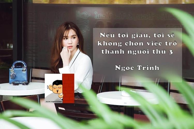 """Nhung cau noi gay bao du luan mang """"thuong hieu"""" Ngoc Trinh-Hinh-6"""