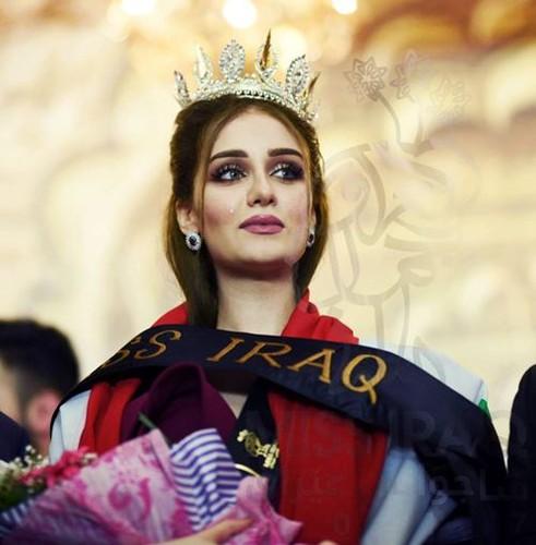 Nhan sac nguoi dep dang quang Hoa hau Iraq mat ngan le-Hinh-5